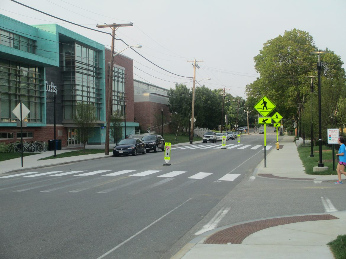 Pedestrian Safety and Awareness on Campus